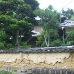 波方町樋口中古住宅塀