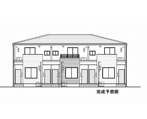 泉川2丁目アパートB外観イメージ