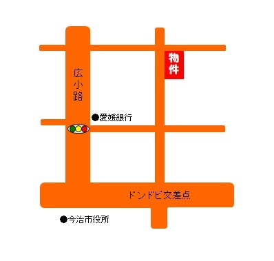 大澤畳店地図