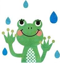 梅雨カエル